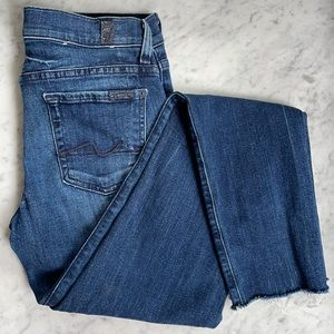 7 For all mankind Gwenevere skinny jeans 26